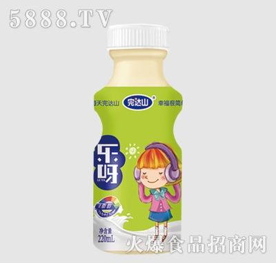 完达山乐呀乳酸菌饮品草莓味220ml(女孩)