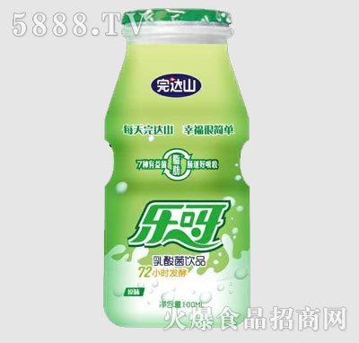 完达山乐呀乳酸菌饮品原味100ml