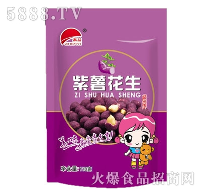 振益紫薯花生118g