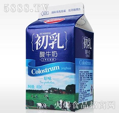 初乳酸牛奶原味460ml