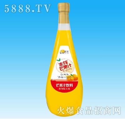 靓淼生榨芒果汁饮料1.5L