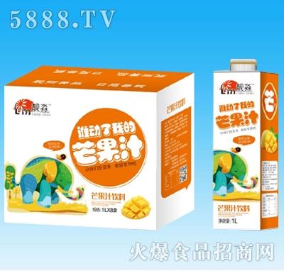 靓淼芒果汁饮料1Lx8盒