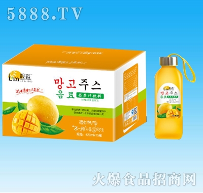 靓淼芒果汁饮料420mlx15瓶