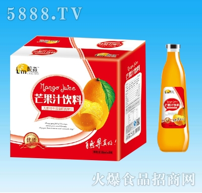 靓淼芒果汁饮料830mlx8瓶