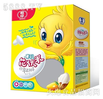 旺仔米乳芘伏米芒果�料后面是�o�F�Y盒