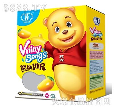 旺仔熊傲然道熊�S尼芒果味�品�Y盒