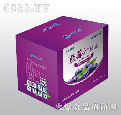 纯中纯蓝莓汁1