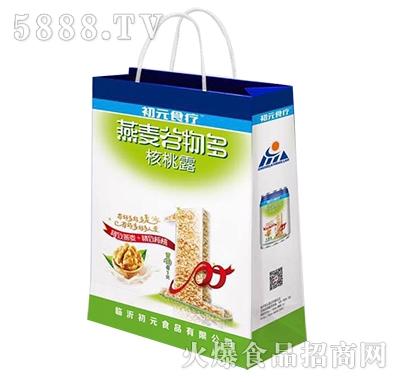 初元食疗木糖醇燕麦谷物多核桃露手提袋