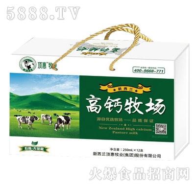 新西兰高钙牧场250ml×12盒