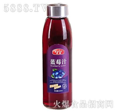 雨露蓝莓汁420ml