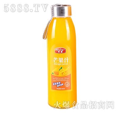 雨露芒果汁420ml