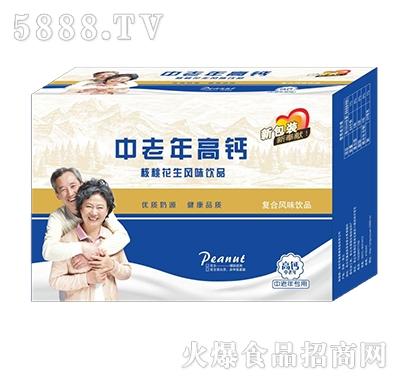 调皮虎中老年高钙核桃花生风味饮品箱装