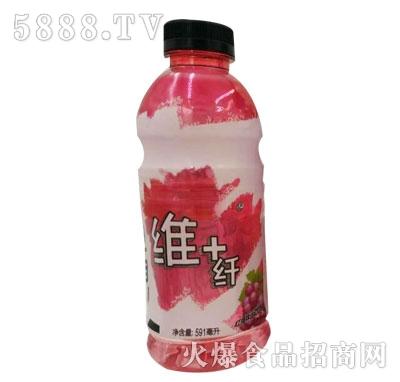 维+纤红樱桃味饮料591ml