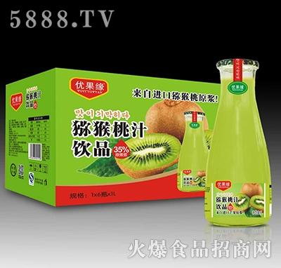 1Lx6瓶优果缘猕猴桃汁饮品产品图