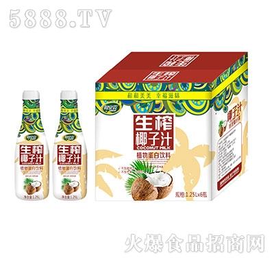 和宜露生榨椰子汁1.25Lx6瓶