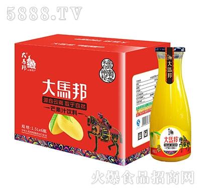 大马邦芒果汁饮料1.5Lx6瓶