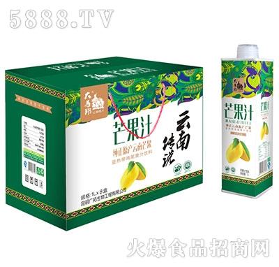 大马邦芒果汁1Lx8瓶