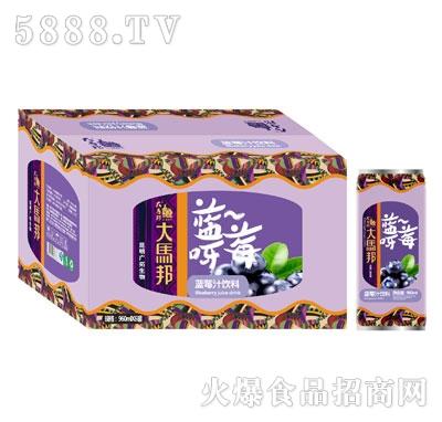 大马邦蓝莓汁饮料960mlx6瓶