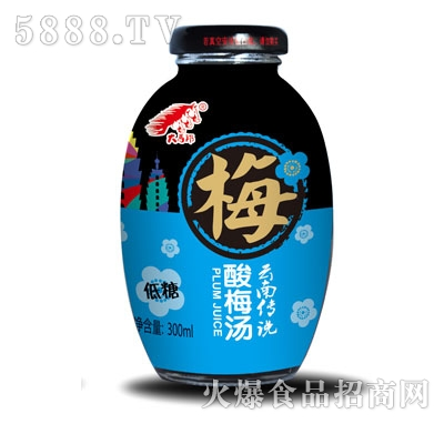 大马邦低糖酸梅汤300ml