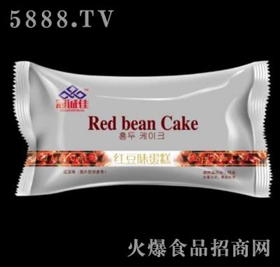 冠诚佳红豆味蛋糕