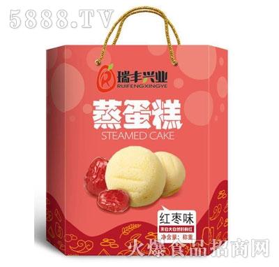 瑞丰兴业蒸蛋糕红枣味(箱)