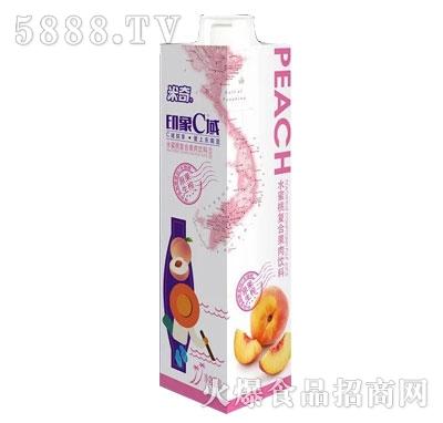 米奇印象C域水蜜桃复合果汁饮料1L
