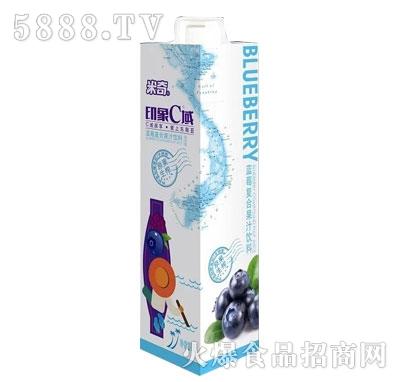 米奇印象C域蓝莓复合果汁饮料1L