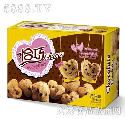 恰巧巧克力味曲奇饼干黄油味45g