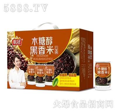 320g航冠木糖醇黑香米八宝粥