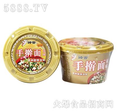 神宫手擀面贵州酸辣汤味115g