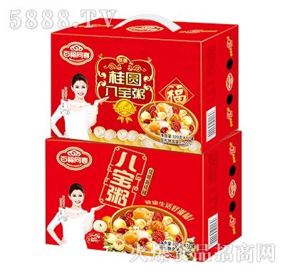 百福同喜桂圆八宝粥礼盒320g×12罐