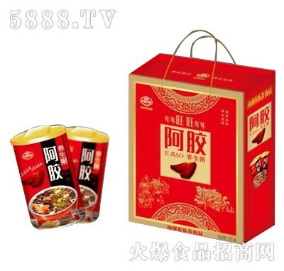 百福同喜阿胶养生粥礼盒320g×8罐