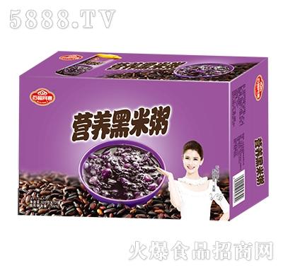 百福同喜营养黑米粥箱320g×12罐