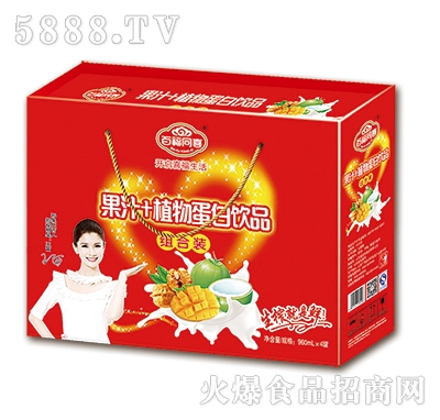 百福同喜果汁+植物蛋白饮品礼盒