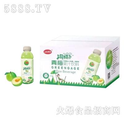 闽鲜果园淘妹子青梅果汁饮料468mlx15瓶