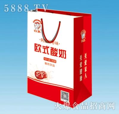 白象欧式酸奶阿胶红枣味250lmx20盒