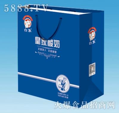 白象皇家酸奶手提袋200mlx12盒
