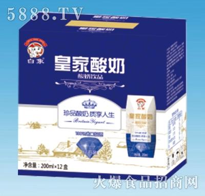 白象皇家酸奶200mlx12盒