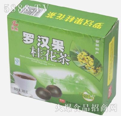 松达罗汉果桂花茶(绿色装)