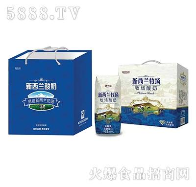 新西兰酸奶发酵型200mlx12盒