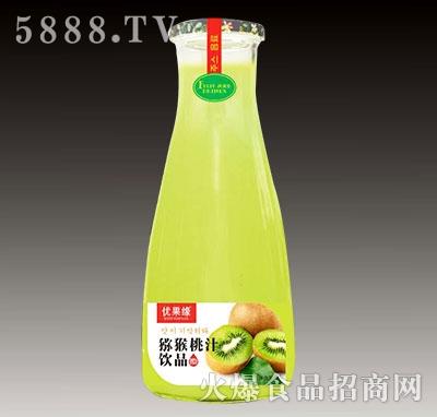 优果缘猕猴桃汁饮品(果粒)产品图