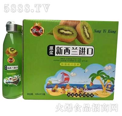 浓一香猕猴桃汁420mlx12瓶