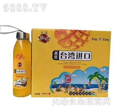 浓一香芒果汁原浆420mlx12瓶