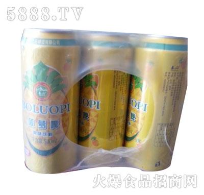蓝色经典菠萝啤果味型500ml九罐装
