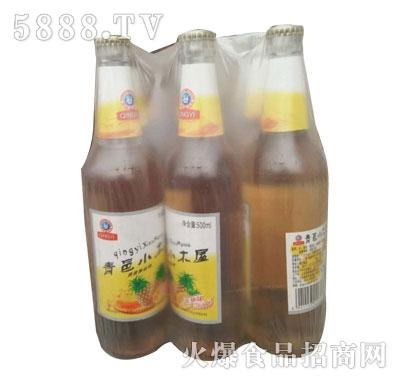 青邑小木屋果啤饮料500ml