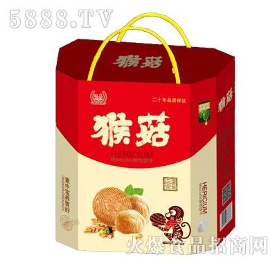 迎奉猴菇酥性饼干