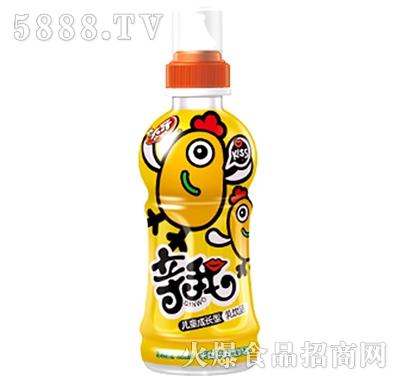 亲我儿童成长型乳饮料儿童奶黄色瓶装