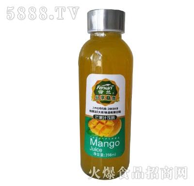 汾兰芒果汁饮料398ml