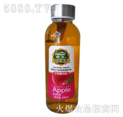 汾兰苹果醋饮料398ml