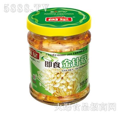 闽星即食金针菇罐头产品图